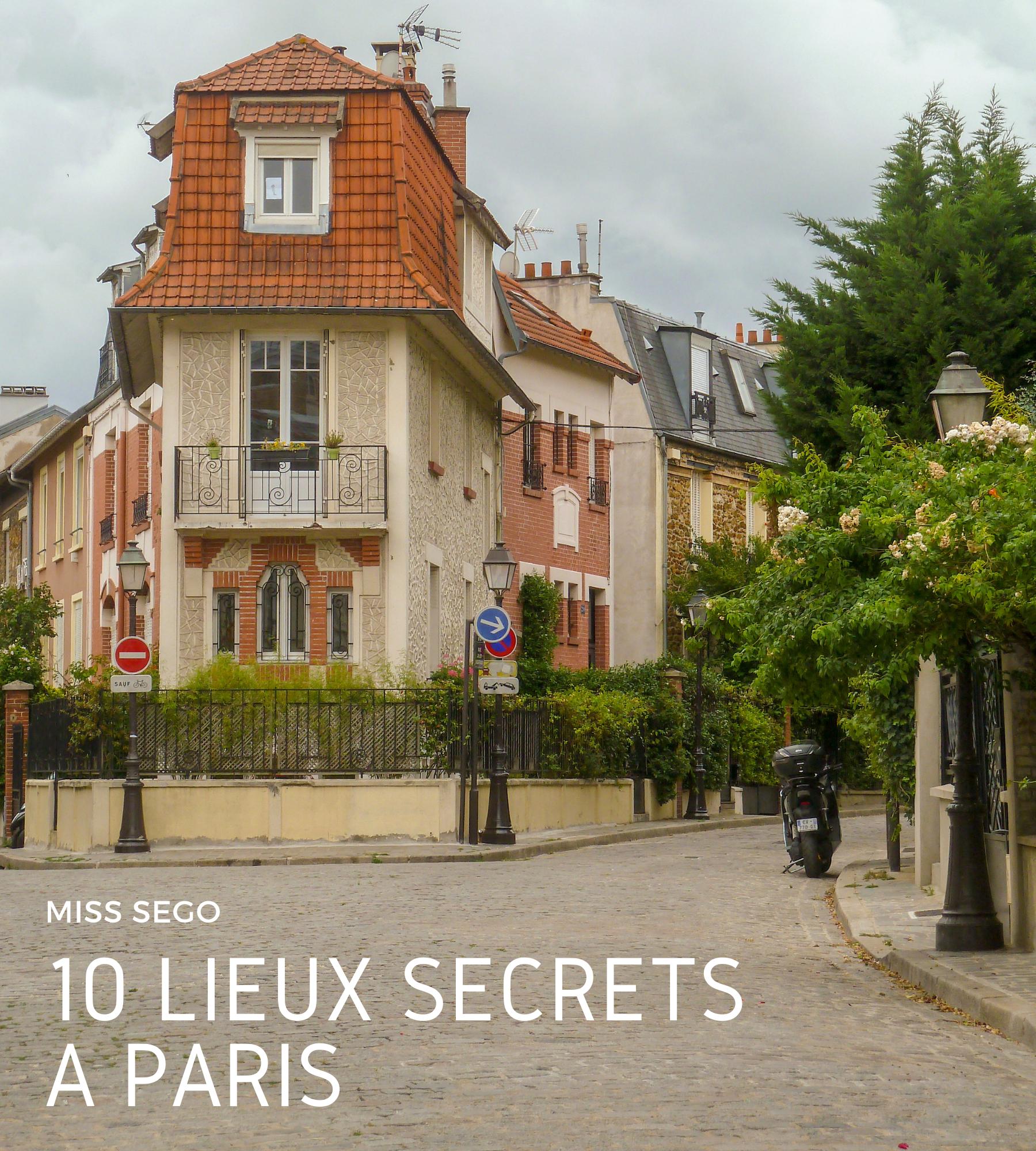 10 lieux secrets à Paris